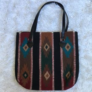 Handbags - Southwest Wool Tote Bag
